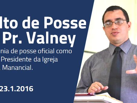 Culto de posse Pr. Valney Veras
