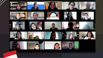 Encuentro de estudiantes Yudleads con la Misión Permanente de Indonesia ante las NNUU