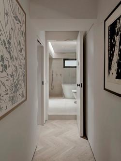 home gallery hallway