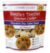 Soozie Doozie Chocolate Chip Pouch Trans