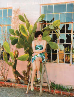 ELLE ITALIA featuring Riley Keough, shot by Matt Jones