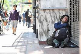 VAGRANCY/ HOMELESS ISSUES ON RETAIL PROPERTIES IN SAN FRANCISCO.