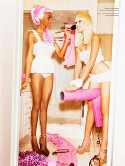 """VS Magazine """"Barbie Party"""" - Shot by Ellen Von Unwerth"""