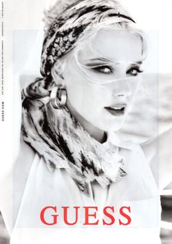 GUESS featuring Amber Heard shot by Ellen Von Unwerth