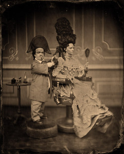 """Tinotype photography for the Film """"MIRROR MIRROR"""", shot by Stephen Bergman"""