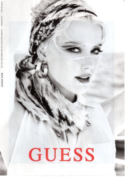 GUESS featuring Amber Heard, by Ellen Von Unwerth