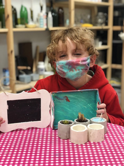 Craft Crazy Camp August 23rd-27th