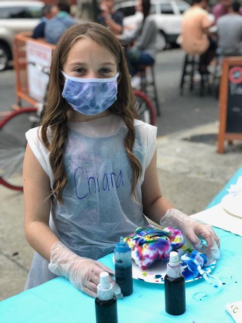 Tie-Dye Backyard Birthday Party