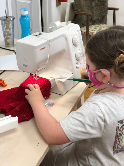 Fashion Camp - Recycle, Reuse and Up-cycle  July 26th-30th