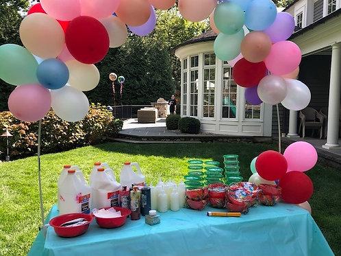 Slime-Tastic Backyard Birthday Party
