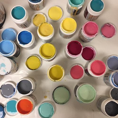 Pour Paint Your Master Piece Aug 21