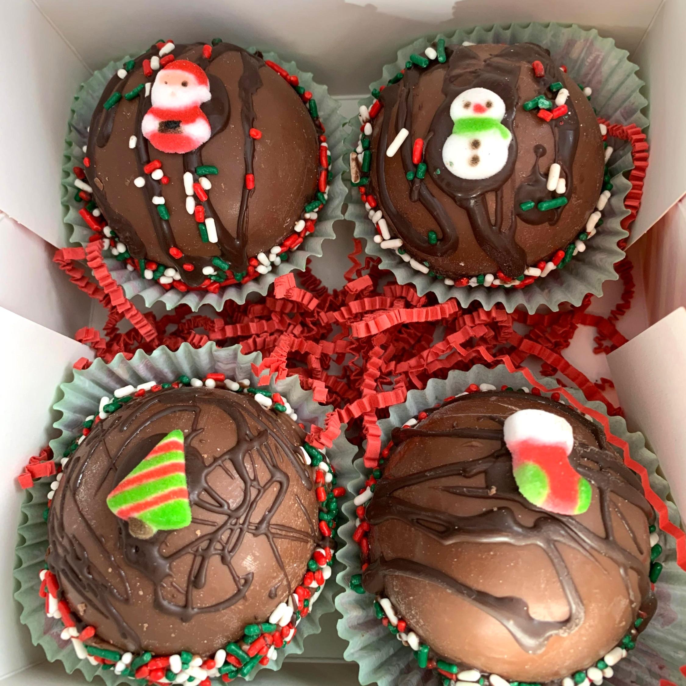 Assortment of Chocolate Bombs