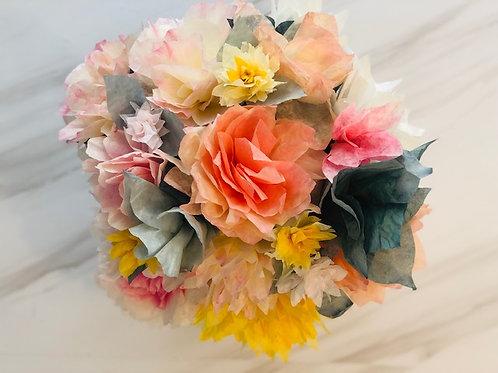 April: ADULT Spring has Sprung Paper Flower Craft Night (Virtual)