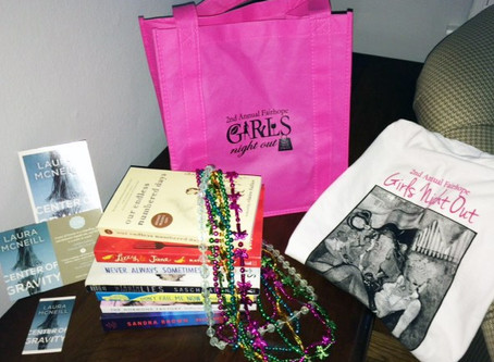 Prize Pack Giveaway ~ 7 Beach Reads, Tote, T-Shirt & More