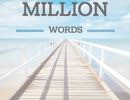 Writing Wednesday: One Million Words
