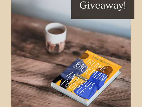 Hardcover Book Giveaway: Anxious People