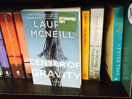 On the Road … The Center of Gravity Book Tour