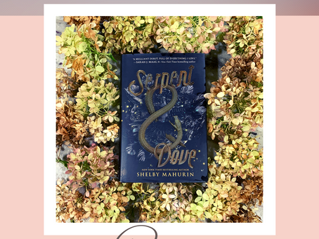 Book Review: Serpent & Dove 🌟🌟🌟🌟🌟