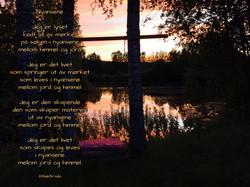 Huske solnedgang dikt Nyansene