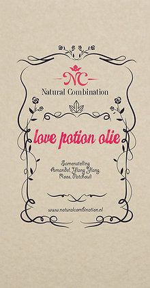Love potion olie 100 ml