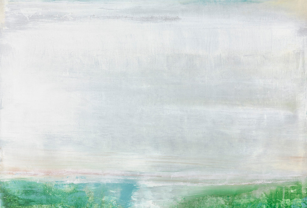 Emerald Mist  36 x 48 Private Collection