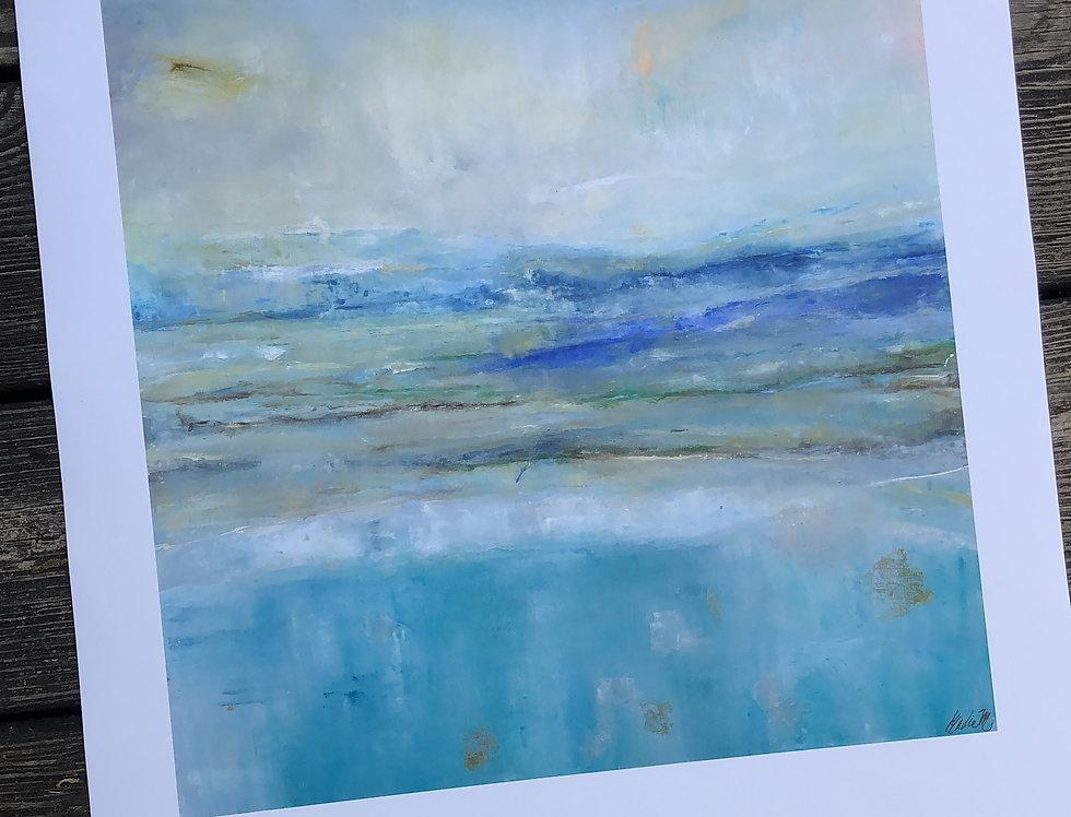 Inquisitive Shore 15 x 20 Print