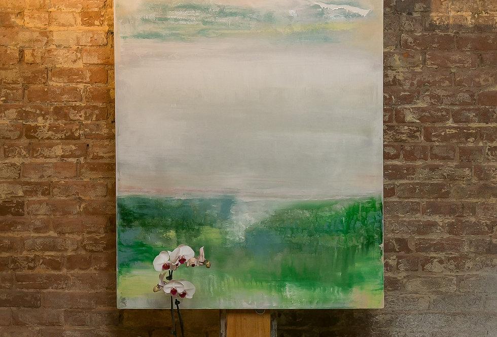 Emerald Mist  36 x 48 Private Collection