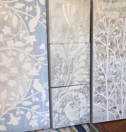 Three Pattern Pieces