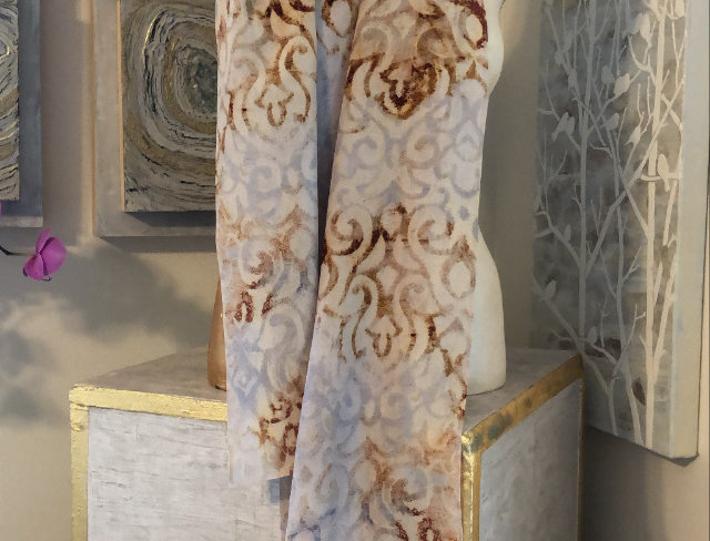 Silk Scarf Design Panels