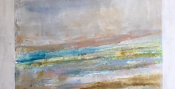 Fresco in Spring 2  30 x 30 x 2 3/8