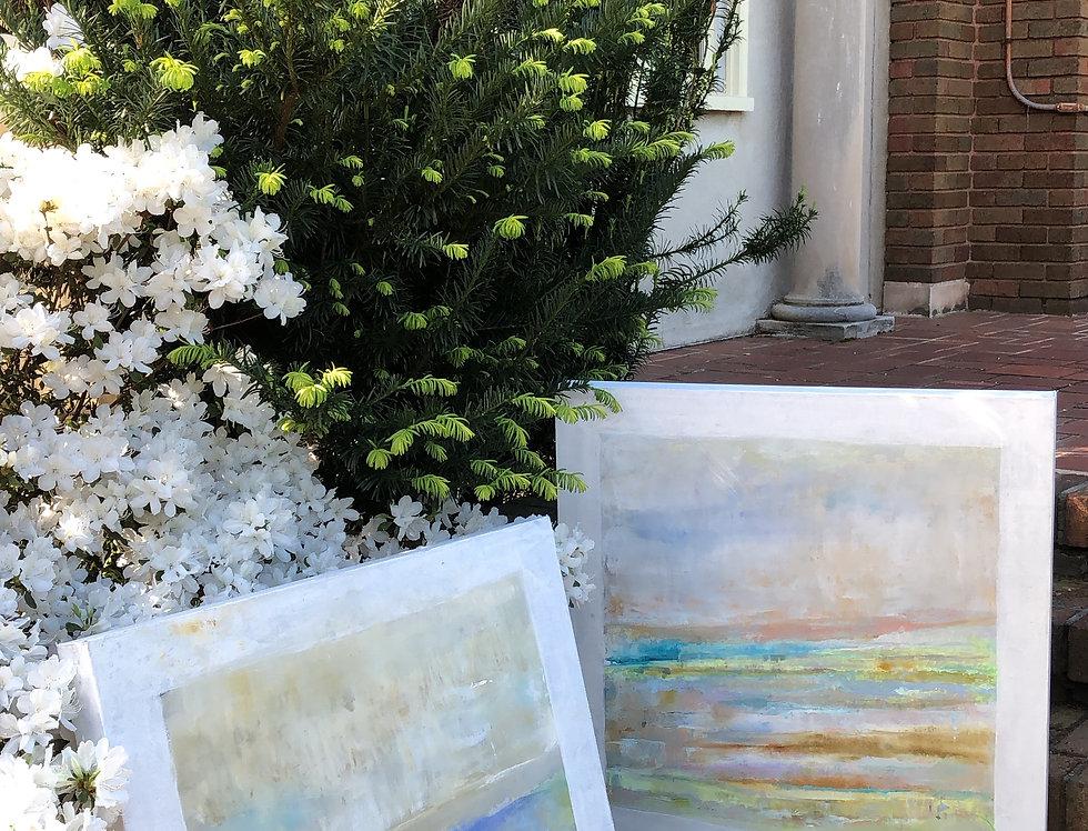 Fresco in Spring 1  30 x 30 2 3/8