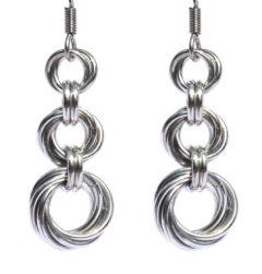 Triple Spiral Earrings