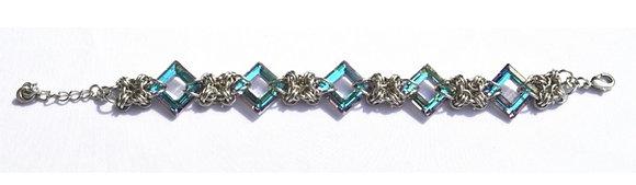 Square Swarovski Vitrail Light Bracelet