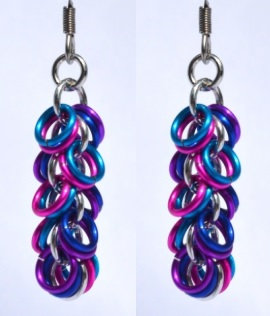 Multi-Color Shaggy Loop Earrings