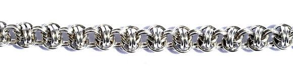 Orbital Silver Bracelet
