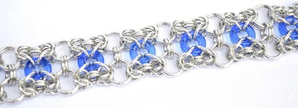 Sapphire Donut Bracelet