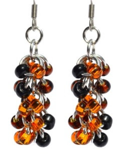 Oriole Shaggy Loop Earrings
