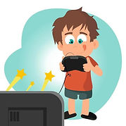 kid-playing-videogame-focused-on-a-v-vec