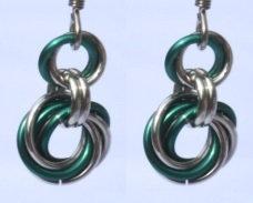Forest Green Earrings