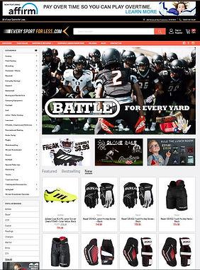 Everysportforless.com Shop Online