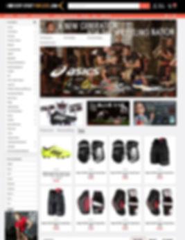 Everysportforless.com Homepage