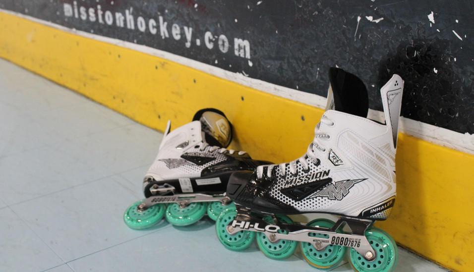 Roller Hockey at 2nd Time Around Sports