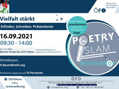 Poetry Slam Workshop