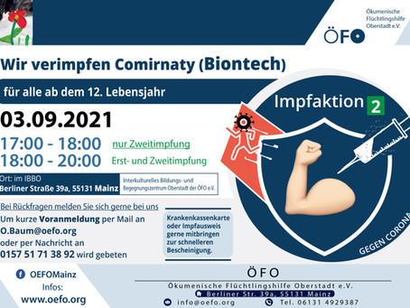 2. Informations- und Impfaktion im IBBO