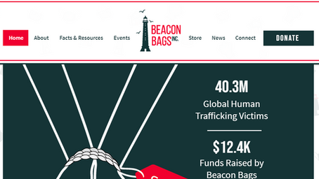 Beacon Bags March Newsletter+ Launching Our Website!