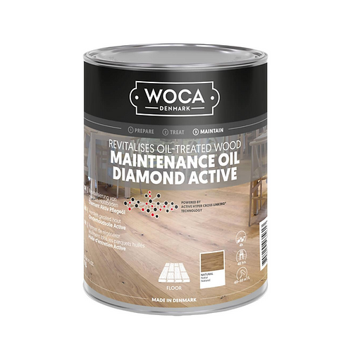 WOCA Maintenance Diamond Active Oil – 1 Litre