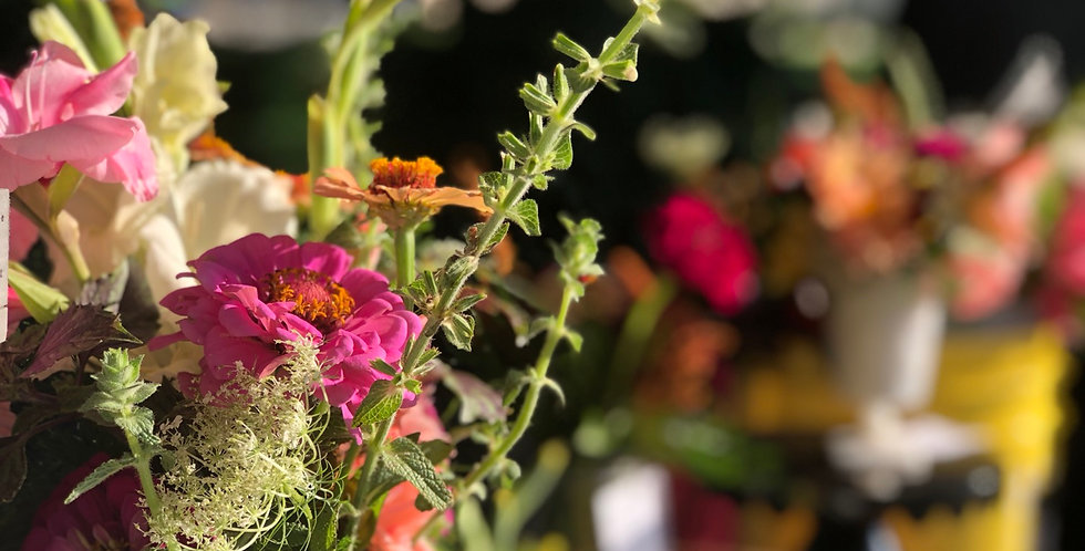 Wild Bridesmaid Bouquet