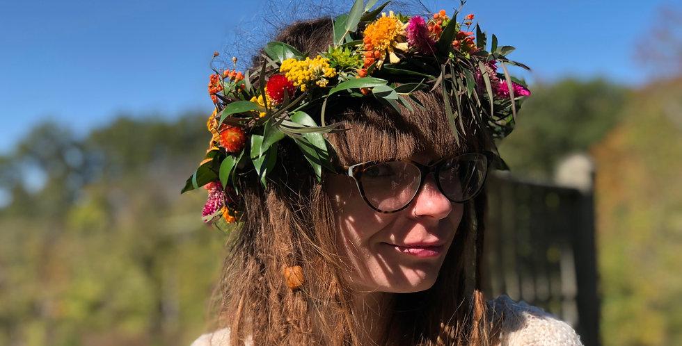 Wild Bridal Crown