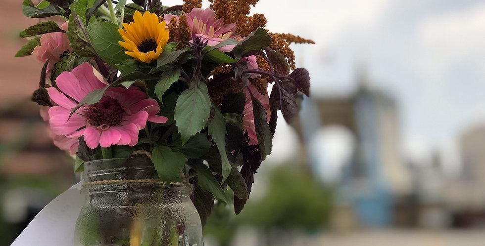 Jar Bouquets