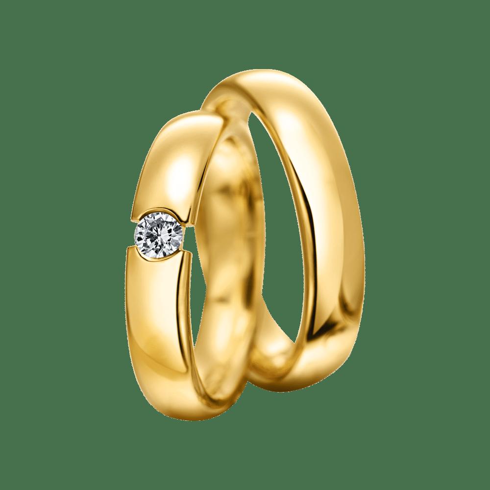 M-132 / Gelbgold Eheringe